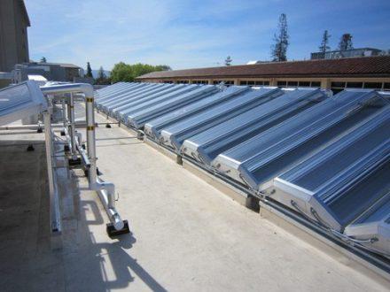 Santa Clara University Thermal Solar Array 01